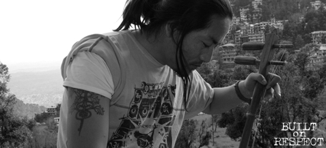 Tattoos of Tibetan Refugees: Tamding