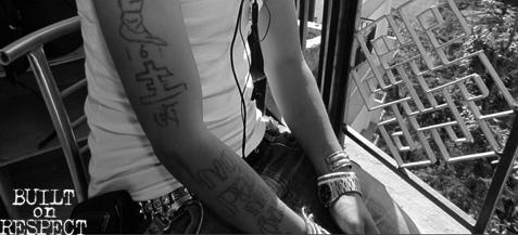 Tattoos of Tibetan Refugees: Babs